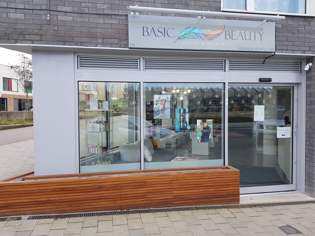Beauty Salon View Front | Basic Beauty Ltd | Universal Treatment