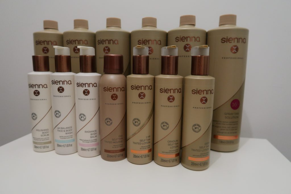Sienna X Products For Spray Tan | Basic Beauty Ltd | Universal Treatment